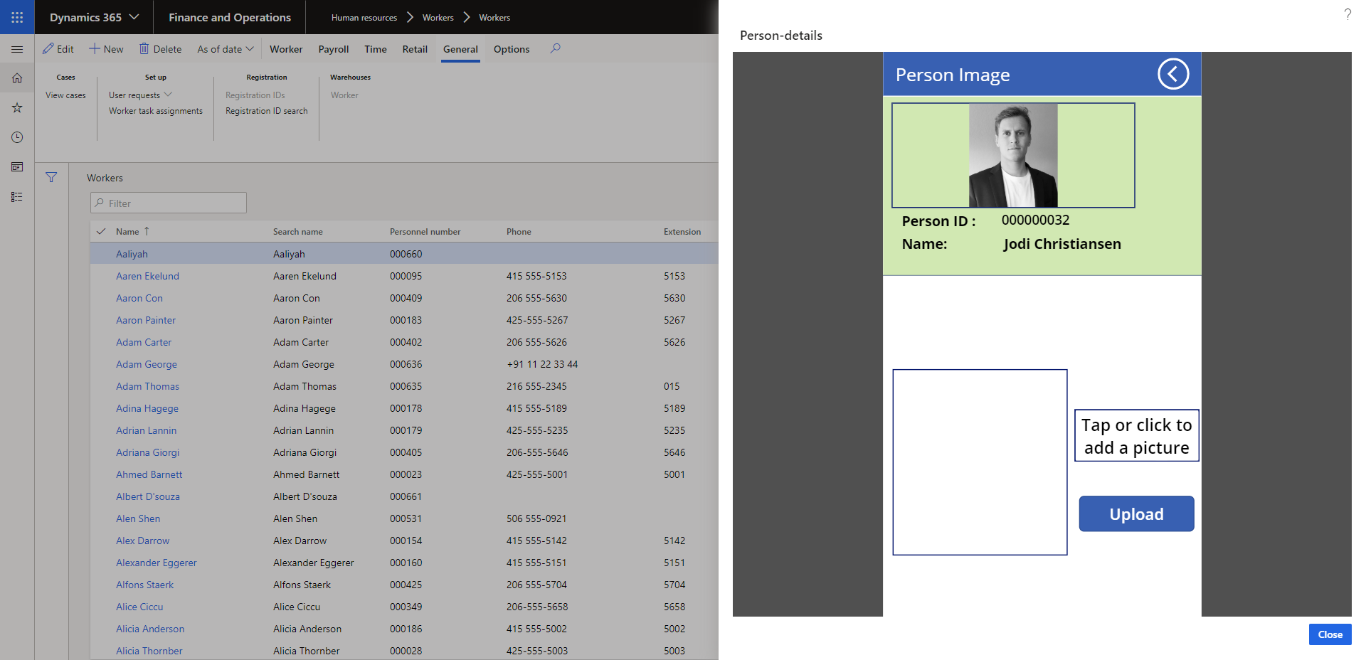 How to upload a profile picture on Microsoft Power Platform