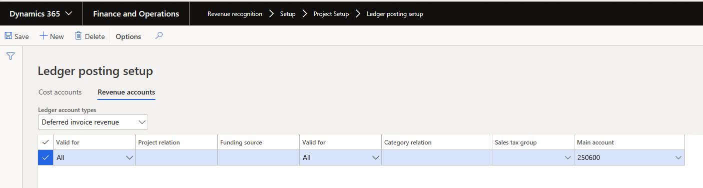 Microsoft-Dynamics-365-project-ledger-posting