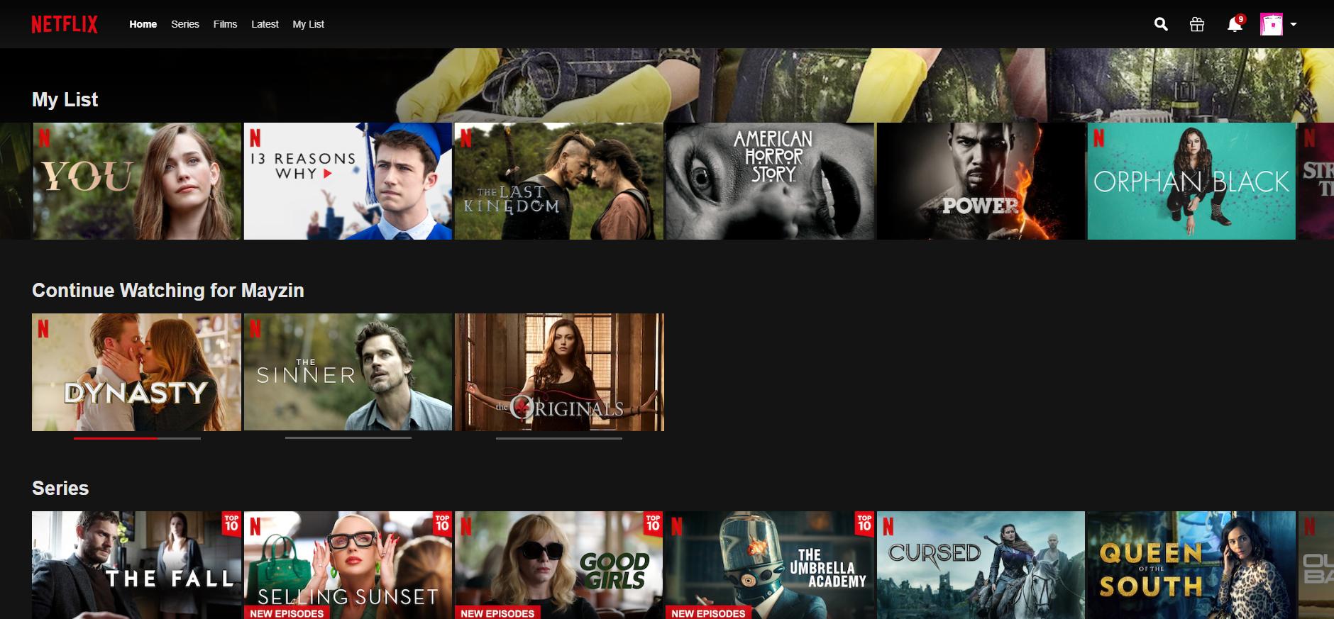 Netflix - personalisation-1