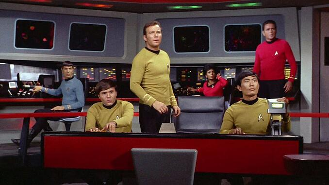 The Star Trek captain's bridge is a great comparison to how it feels to use ERP
