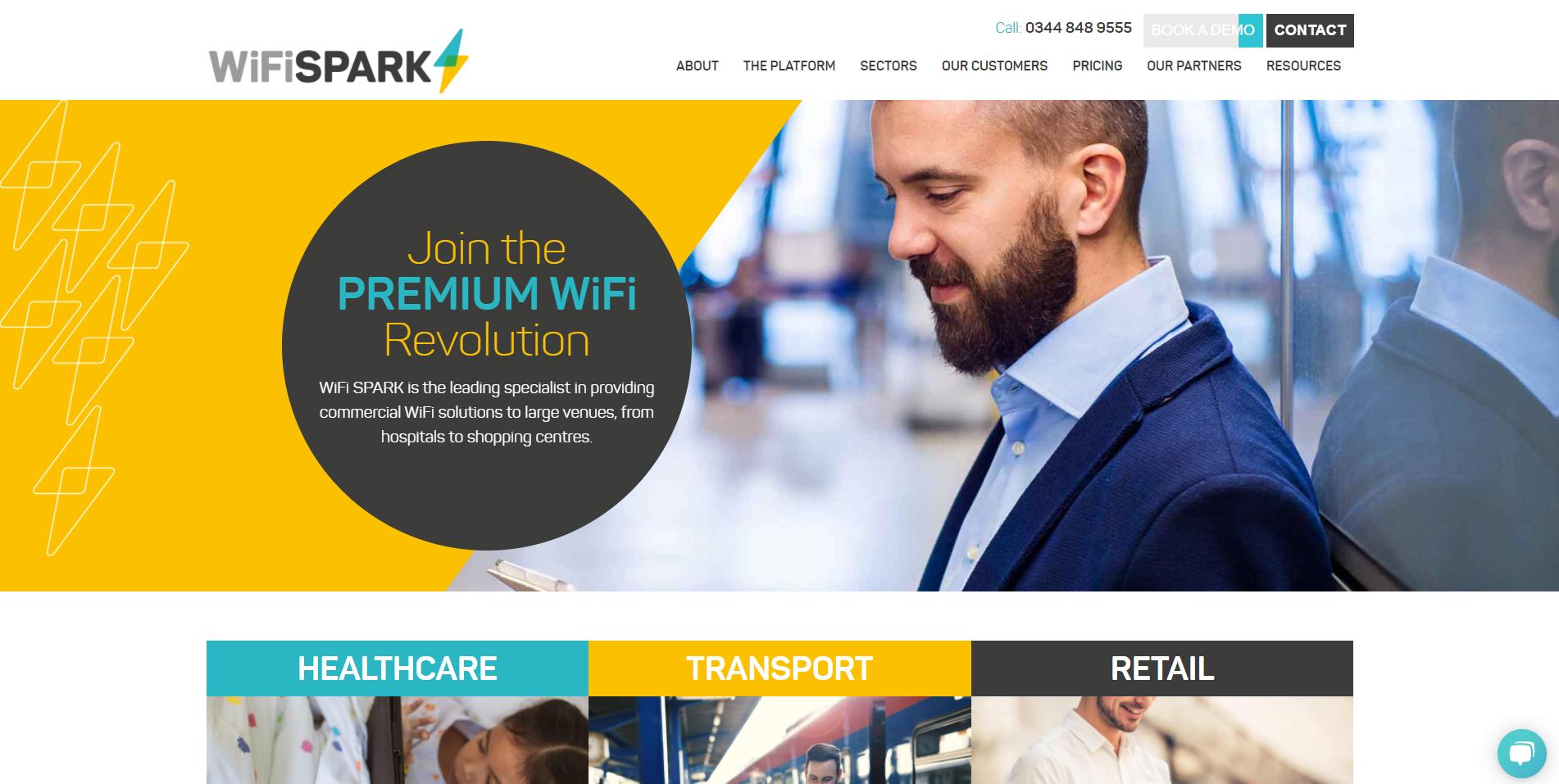 Wifi spark website example-1