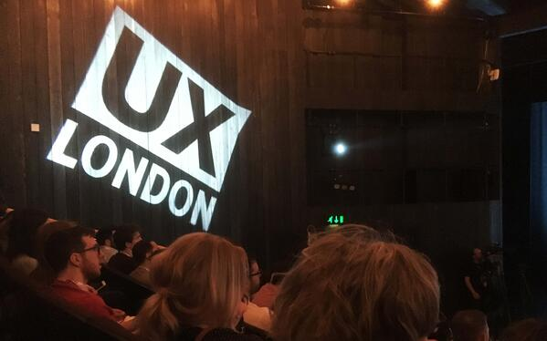 UX London: How to give a welcoming hug of UX, tips for iterations, and consider removing your whole interface