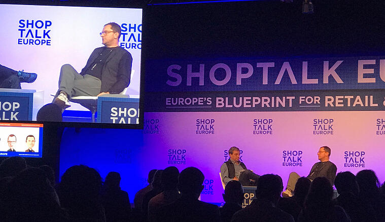 Doug Gardner på Shoptalk Europe
