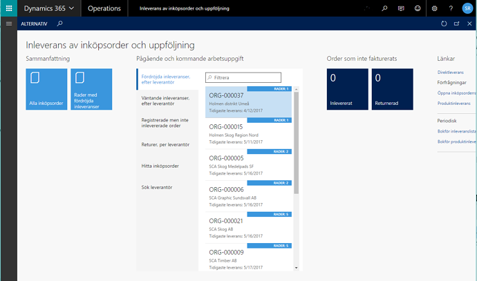 Dynamics 365 - Workspaces 1