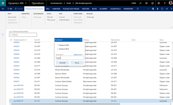 Dynamics 365 - Workspaces 2