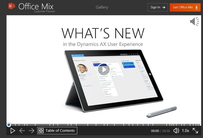 Dynamics 365 Office Mix.png