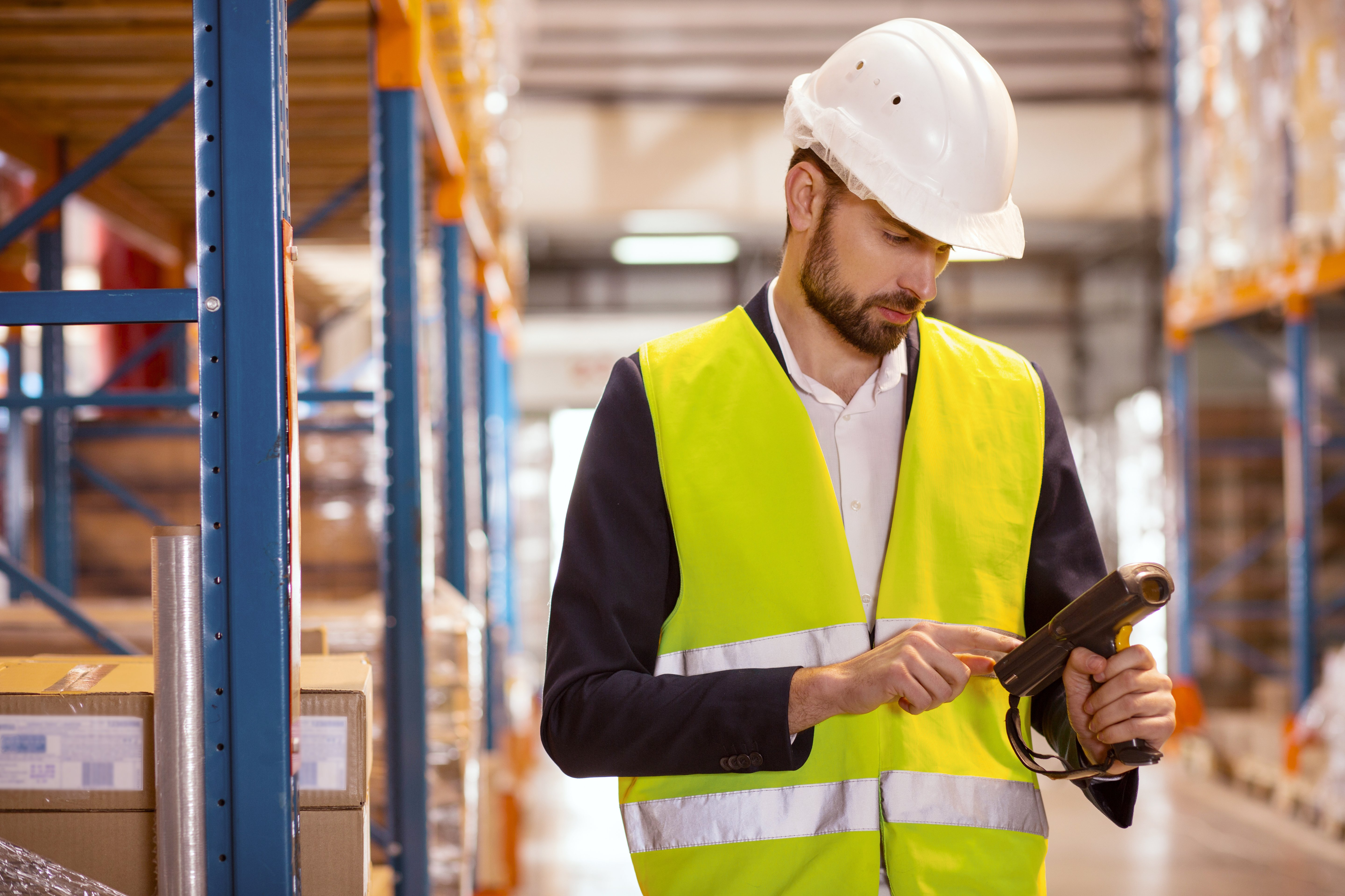 Inventory visibility in manufacturing