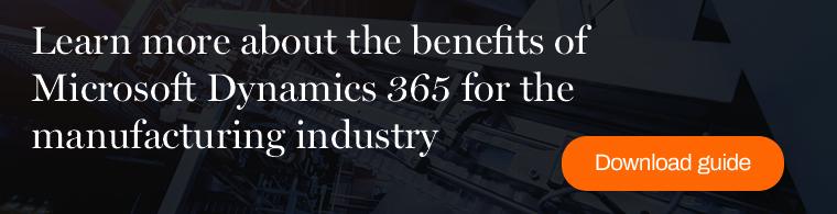 Learn more about the benefits of Microsoft Dynamics 365 for the manufacturing industry in this Columbus guide