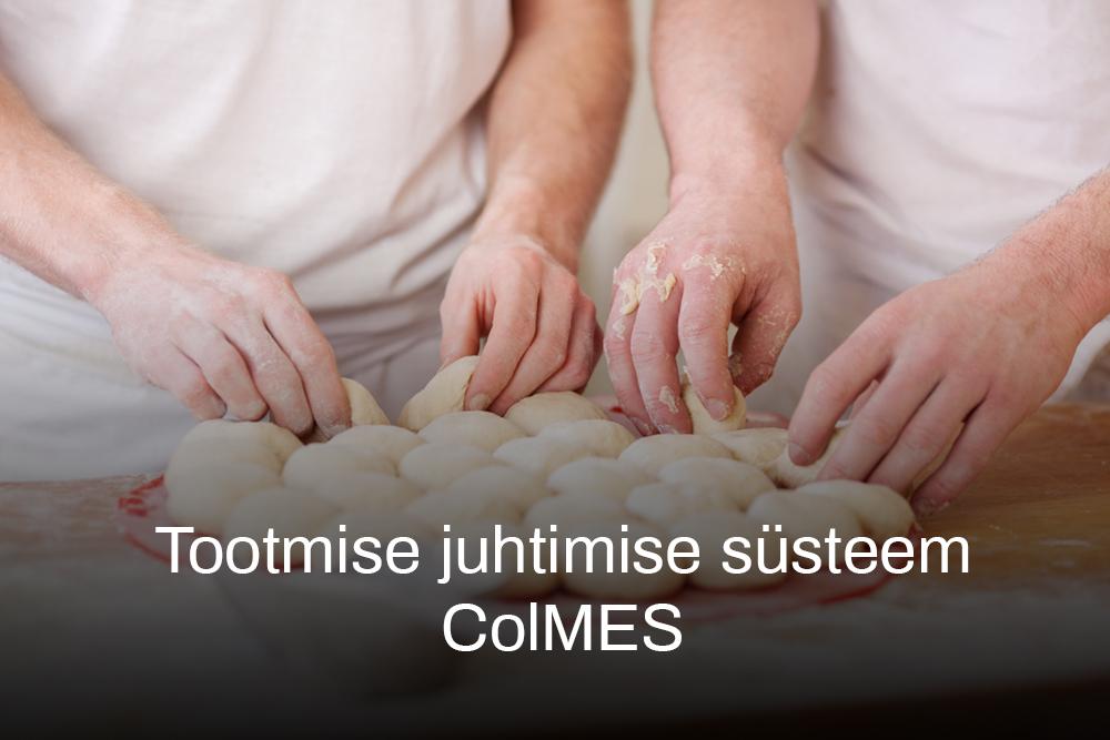 Tootmise juhtimise süsteem ColMES-archivo